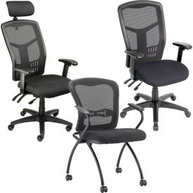 Interion® Mesh Back-Office chaises