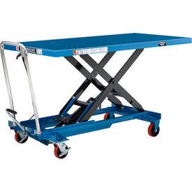 Oversized Deck Mobile Scissor Lift Tables