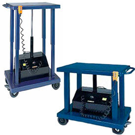 Wesco® Battery Powered Work Positioning Mobile Post Lift Tables