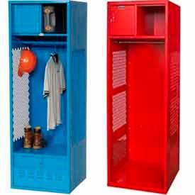 Steel Gear Lockers with Open Front