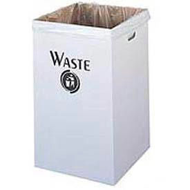 Corrugated Recycling Waste Receptacle
