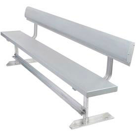 Aluminum Benches with Back