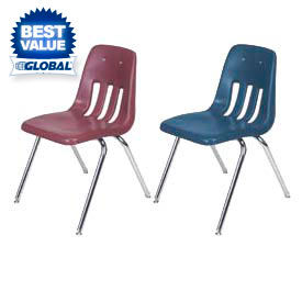 Stackable Plastic Classroom Chairs