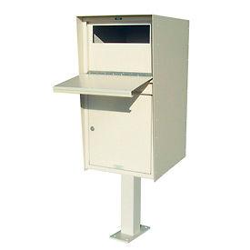 Déposer la boîte casiers avec option Post - accès frontal