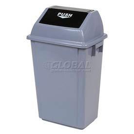 Global Industrial™ Flip Top Trash Can