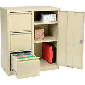 All-Welded Combination Storage Cabinet