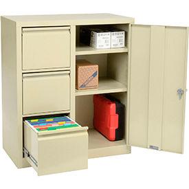 Cabinet de stockage combiné entièrement soudé