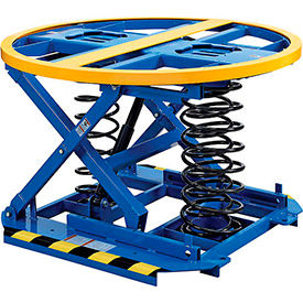 Global Industrial™ Spring-Operated Self-Leveling Pallet & Skid Carousel Positioners