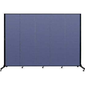 Screenflex® - Fabric Upholstered Mobile Room Dividers - 6 Ft 5 In Height
