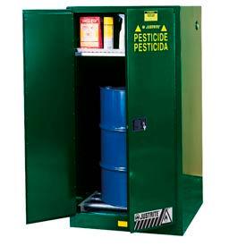 Meuble de rangement Justrite® pesticides tambour Vertical