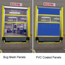 TMI Screen-Pro™ Roll-Up Bug Dock Doors