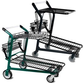 VersaCart® Retractable Shelf Shopping Carts