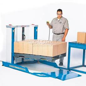 Bishamon® EZ Off Lifter® Electro-Hydraulic Pallet Carousel Positioner
