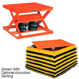 PrestoLifts™ Air Bag Pneumatic Scissor Lift Tables