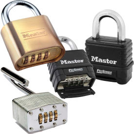 Security Bottom Resettable Combination Padlocks