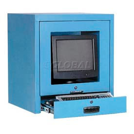 Counter Top CRT Security Computer Cabinet