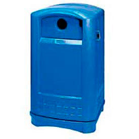 Rubbermaid Plaza® Outdoor Recycling Station Containers