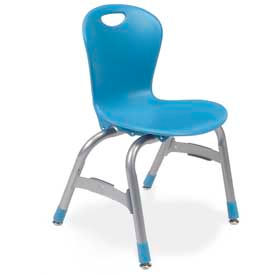 Virco® - 4 pieds empilables chaises assorties Collections