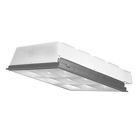 Luminaires fluorescents Troffer parabolique