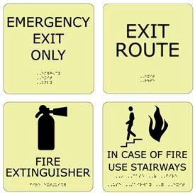 ADA Office Glow Signs