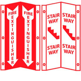 3-View Fire Signs