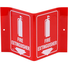 3-View Fire Extinguisher Signs