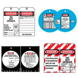 Lockout-Tagout Tags