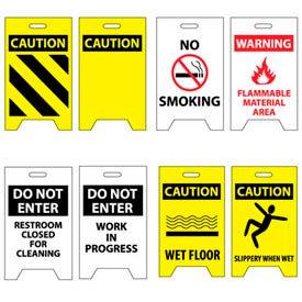 Facility A-Frame Floor Signs