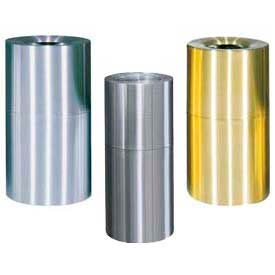 Rubbermaid® Atrium Aluminum & Brass Containers
