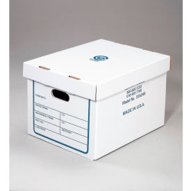 File Record Transfer and Storage Corrugated Boxes with Lift-Off Lid