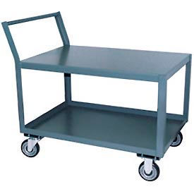 Low-Profile Steel Table Carts with Offset Handle