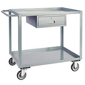 Steel Service Carts with Drawers