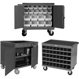 Mobile Small Parts Service Benches & Carts