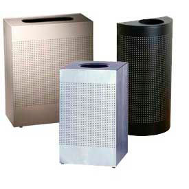 Rubbermaid® Silhouette Open Top Trash Cans