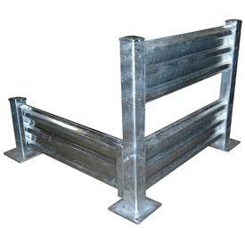 Systèmes de rails de garde en acier galvanisé