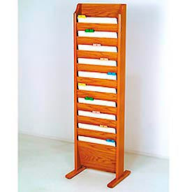 Wooden Mallet -  Free Standing Chart Holder