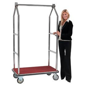 Easy-Roll Bellman Hotel Luggage Carts
