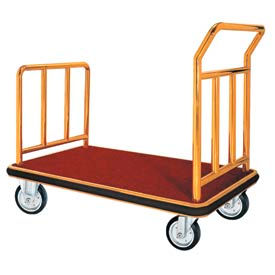 Aarco Deluxe Hotel Luggage Platform Trucks