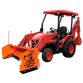 Compact Tractor Snow Plows & Pushers