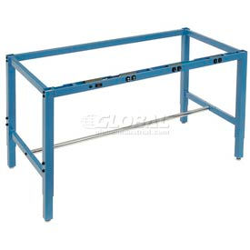 Heavy Duty Square Tubular Height Adjustable Production Bench Frames