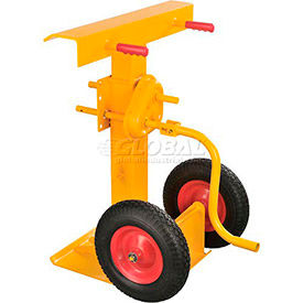 Global Industrial™ Hand Crank Trailer Stabilit Jack Stands