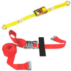 Cargo Control Winch & Ratchet Tie Down Strap Assemblies