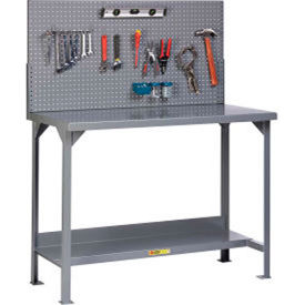 Heavy Duty Welded Fixed Height Workbenches with Panel