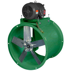 Tube Axial Belt Drive Duct Fan For Wet Environment