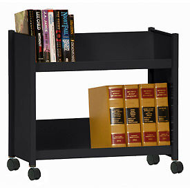 Sandusky® Welded Sloped-Shelf Book Carts