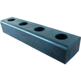 Vestil High-Impact Hardened Molded Dock Bumpers