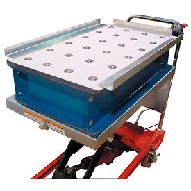 Pop-Up Ball Transfer Conveyor Platforms