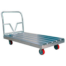 Aluminum Channel Deck Platform Trucks