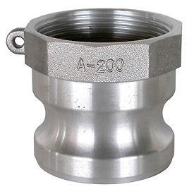 Raccords Camlock en aluminium