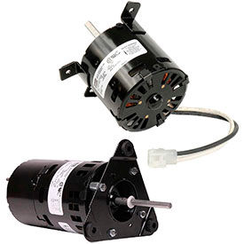 3.3 In. Dia. Flue Exhaust & Draft Booster Blower Motors